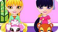 Игра Малышка Барби: Уход За Домашними Животными