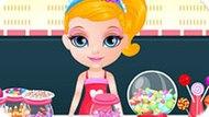 Игра Малышка Барби: В Магазине Конфет