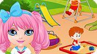 Игра Малышка Барби В Поисках Сокровища