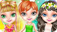 Игра Малышка Барби В Салоне Феи