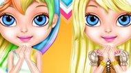 Игра Малышка Барби В Стиле Эквестрия Герлз