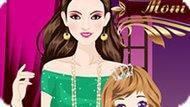 Игра Мама И Принцесса Дочь