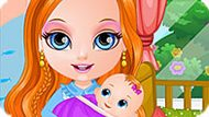 Игра Младшая Сестра Малышки Барби