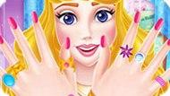 Игра Принцесса Диснея Аврора 6: Маникюр