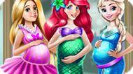 Игра Беременные Принцессы Диснея Одевалка