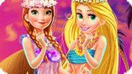 Игра Гавайский Стиль Принцесс Диснея
