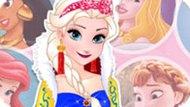 Игра Эльза В Образе Принцесс Диснея