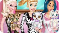 Игра Любимые Животные Принцесс Диснея