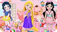Игра Малышки Принцессы Диснея Убирают Комнату