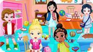 Игра Малышки Принцессы Диснея В Школе