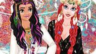 Игра Мода 2017 Для Принцесс Диснея: Коачелла