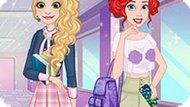 Игра Модный Экзамен Принцесс Диснея