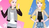 Игра Модный Поединок Принцесс Диснея