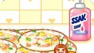 Игра Моем Посуду В Пиццерии