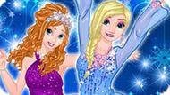 Игра Новогодние Развлечения Принцесс Диснея