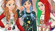 Игра Новогодняя Вечеринка Принцесс Диснея