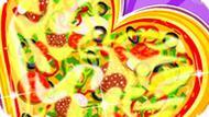 Игра Пицца В Виде Сердца