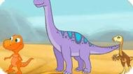 Игра Поезд Динозавров 3: Водопой