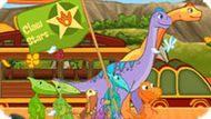 Игра Поезд Динозавров 4: Церемония