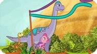 Игра Поезд Динозавров 7: Триатлон