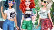 Игра Принцесса Ариэль — Блоггер Уличной Моды