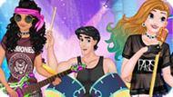 Игра Принцессы Диснея 4: Концерт Рок-Группы