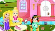 Игра Принцессы Диснея 8: Уборка В Замке