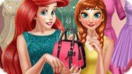 Игра Принцессы Диснея: Анна И Ариэль В Гардеробной