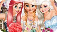 Игра Принцессы Диснея: Анна И Подружки Невесты