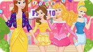 Игра Принцессы Диснея: Анна В Женском Клубе