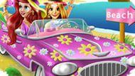 Игра Принцессы Диснея: Автопутешествие На Пляж