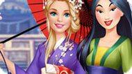 Игра Принцессы Диснея: Барби В Гостях У Мулан