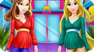 Игра Принцессы Диснея: Беременные Белль И Рапунцель