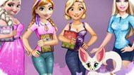 Игра Принцессы Диснея: Блокнот От Барби