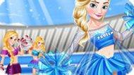 Игра Принцессы Диснея Черлидеры