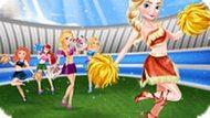 Игра Принцессы Диснея: Чирлидерши