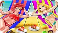 Игра Принцессы Диснея: День На Пляже
