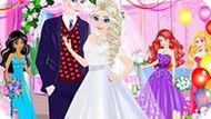 Игра Принцессы Диснея: День Свадьбы Эльзы