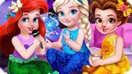 Игра Принцессы Диснея: Девичник Малышек