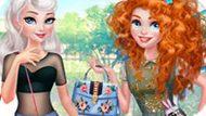 Игра Принцессы Диснея: Девушки На Каблуках