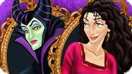 Игра Принцессы Диснея: Дизайн Комнаты Для Злодеек