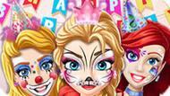 Игра Принцессы Диснея: Фейс Арт В День Рождения