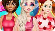 Игра Принцессы Диснея: Фруктовая Мода