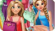 Игра Принцессы Диснея: Гардероб Эльзы И Рапунцель
