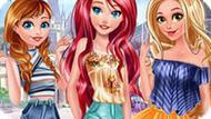 Игра Принцессы Диснея: Городская Мода