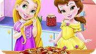 Игра Принцессы Диснея Готовят Пиццу