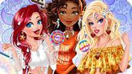 Игра Принцессы Диснея: Хиппи Уик-Енд