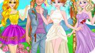 Игра Принцессы Диснея: Хипстерская Свадьба