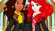 Игра Принцессы Диснея Идут В Хогвардс