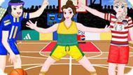 Игра Принцессы Диснея Играют В Баскетбол